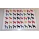 Laminated Placemat  - Dala Horses