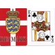 Denmark Flag with Crest Deck of Playing Cards