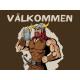 """Valkommen Viking doormat 24"""" x 36"""""""