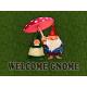 """Welcome Gnome doormat 18"""" x 24"""""""