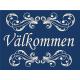 "Valkommen Scroll doormat 18"" x 24"""