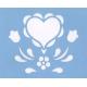 Stencil - Friendship Heart