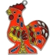 Red Rooster Suncatcher