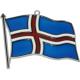 Iceland Flag Suncatcher