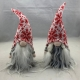 Gnome Tomte  Couple with Nordic Hat