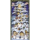 Advent Calendar - Tree with angels and gnomes