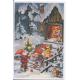 Gnomes Advent Calendar Card