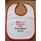 Baby Bib - Made in America with Norwegian Parts