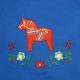 Fleece Blanket- Dala Horse
