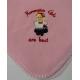 Fleece Baby Blanket - Norwegian Girls - Pink