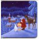 Coasters - Eva Melhuish Tomte Deer & Rabbit