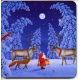Coasters - Eva Melhuish Tomte and Reindeer