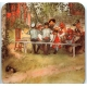 Coasters -  Carl Larsson Breakfast under the Big Birch