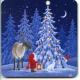 Coasters - Eva Melhuish Tomte Reindeer & tree