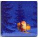Coasters - Eva Melhuish Tomte with Lantern