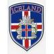 Decal -  Iceland Crest Flag