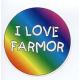 Magnet -  I Love Farmor