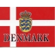 Mouse Pad - Denmark Flag & Crest
