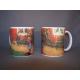 Coffee Mug -  Brita with Cat & Sandwich