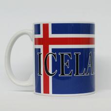 Coffee Mug -  Iceland Flag & Crest