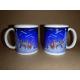 Coffee Mug - Tomte under Shooting Stars by Eva Melhuish