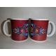 Coffee Mug - Norwegian Rosemaling by Lise Lorentzen