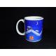 Coffee Mug - Tomte on Roof by Eva Melhuish