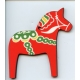 Red Dala Horse Ornament