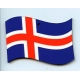 Iceland Flag Ornament