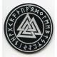 Laser Cut Ornament - Valknut with Runes