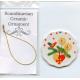Ceramic Ornament  - Heart Basket