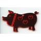 Laser Cut Ornament - Pig