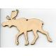 Baltic Birch Ornament - Moose