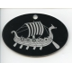 Laser Cut Ornament - Viking Ship