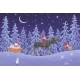 Laminated Placemat - Tomte with Moose